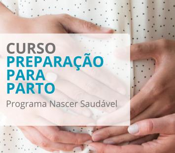 Curso de preparação para parto Nascer Saudável